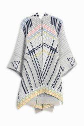 Peter Pilotto Women S Ottoman Cape Boutique1 Grey