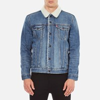 Levi's Men's Type 3 Sherpa Trucker Jacket Buckman