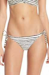Women's Vix Swimwear 'Zebra' Side Tie Brazilian Bikini Bottoms