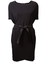 Boudicca Cubic Dress Black