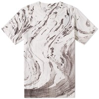 Saint Laurent Marble Tee White