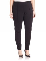 Lafayette 148 New York Plus Size Punto Milano Skinny Pintuck Pants