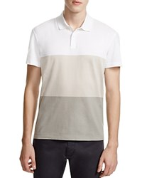Theory Sandhurst Repute Color Block Slim Fit Polo Shirt 100 Bloomingdale's Exclusive White Multi