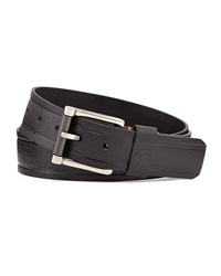 Robert Graham Grassini Paisley Loop Belt Black