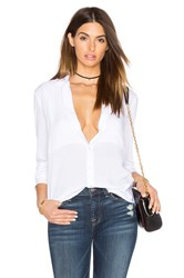 Atm Anthony Thomas Melillo Square Bib Boyfriend Tee White