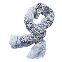 Betty Barclay Long Printed Scarf Dark Blue White