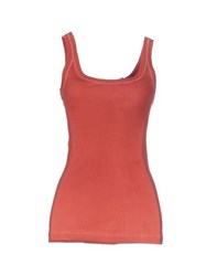 Collection Priv E Topwear Vests Women Brick Red