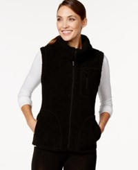 Styleandco. Style And Co. Sport Faux Fur Vest Only At Macy's Deep Black
