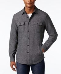 American Rag Men's Shirt Style Jacket Only At Macy's Black Shadow