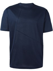 Lanvin Crew Neck T Shirt Blue