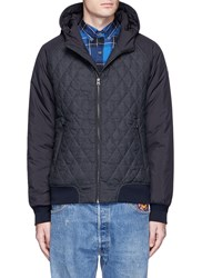 Scotch And Soda Tech Fabric Sleeve Blouson Jacket Black
