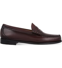 Bass Weejuns Larson Moccasin Penny Loafers Wine
