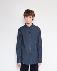 Christophe Lemaire Denim Shirt Indigo