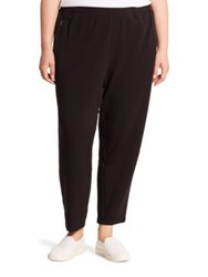 Eileen Fisher Tapered Slouchy Pants Black