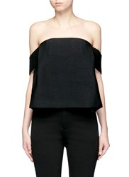 C Meo Collective 'All Under One' Off Shoulder Bodice Top Black