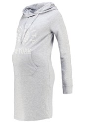 Queen Mum Summer Dress Grey Melee Mottled Grey