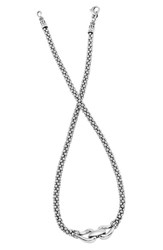 Lagos Women's 'Derby' Buckle Rope Necklace