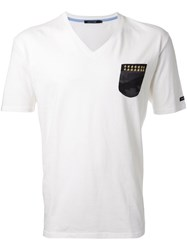 Guild Prime V Neck T Shirt White