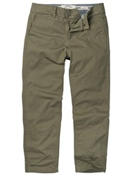 Fat Face Chester Cropped Chino Trousers Basil