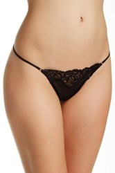 Wacoal Sheer Enough G String Black