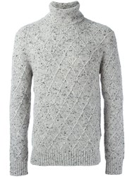 Michael Michael Kors Roll Neck Jumper Grey
