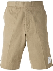 Thom Browne Chino Shorts Nude And Neutrals