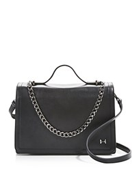 Halston Heritage Flap Shoulder Bag Compare At 425 Black