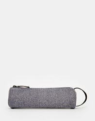 Herringbone Pencil Case Navy