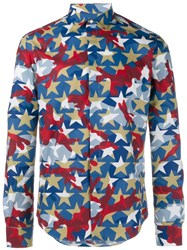 Valentino 'Camustars' Long Sleeved Shirt Multicolour