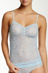 Joe's Jeans Sheer Lace Cami Gray