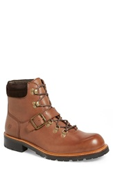 Andrew Marc New York 'Midwood' Plain Toe Boot Men Espresso Coffee Bean Leather