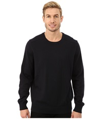 Nautica Solid Crew Neck Sweater Classic Navy Men's Sweater