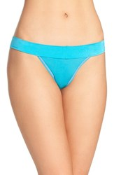 Betsey Johnson Women's 'Forever Perfect' Thong Totally Teal