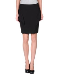 Liu Jo Jeans Knee Length Skirts Black