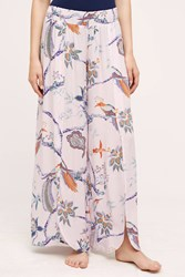 Eloise Larksong Printed Loungers Purple Lilac