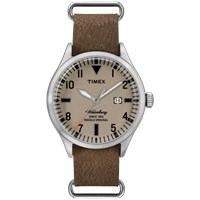 Timex Waterbury Watch Tan And Brown