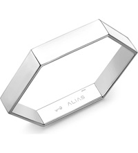 Theo Fennell Alias Sterling Silver Humblebee Bangle