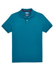 Joules Woody Slim Fit Polo Shirt Dark Teal