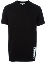 Mcq By Alexander Mcqueen Graphic Square Print T Shirt Black