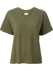 Simon Miller Round Neck T Shirt Green