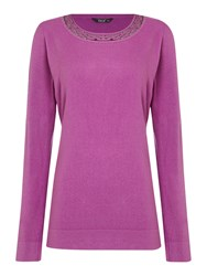 Tigi Long Sleeved Soft Touch Top Pink