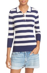Frame Women's Stripe Wool Blend Sweater