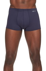 Men's Naked 'Active' Microfiber Trunks Blue