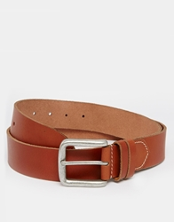 Jack Wills Bodwin Leather Belt Red