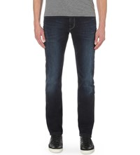7 For All Mankind Slimmy Luxe Performance Slim Fit Tapered Jeans American Shoreline