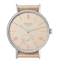 Nomos Glashutte Ludwig Neomatik Champagner Watch Unisex Silver