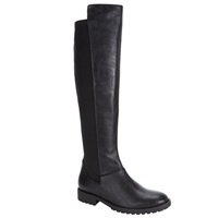 John Lewis Paisy Long Knee High Boots Black