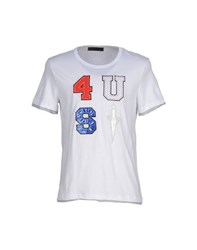 Cesare Paciotti 4Us Topwear T Shirts Men White