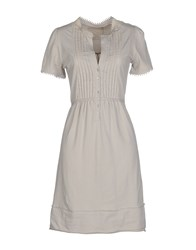 Massimo Rebecchi Dresses Short Dresses Women Light Grey