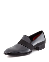 Tom Ford Grosgrain Trim Patent Loafer